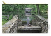 A Covered Bridge Carry-all Pouch