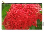 A Crown Of Ixora Carry-all Pouch