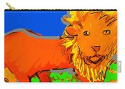 A Curious Lion Carry-all Pouch
