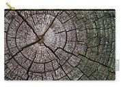 A Cut Above - Patterns Of A Tree Trunk Sliced Across Carry-all Pouch