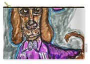 A Dachshund Easter Carry-all Pouch