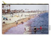 A Day At The Beach - Colored Pens Effect Carry-all Pouch