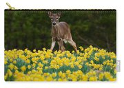 A Deer And Daffodils IIi Carry-all Pouch