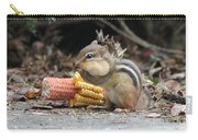 A Delicious Treat - Chipmunk Eating Corn Carry-all Pouch