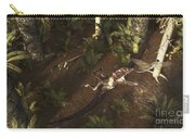 A Dimorphodon Pterosaur Chasing An Carry-all Pouch