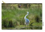 A Disagreement At The Pond Carry-all Pouch