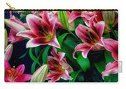 A Display Of Lilies Carry-all Pouch