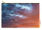 A Divided Sky At Sunset Carry-all Pouch
