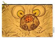 A Cat And A Ladybug Carry-all Pouch