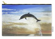 A Dolphin's Life Carry-all Pouch