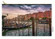 Surreal Seascape On The Grand Canal In Venice, Italy Carry-all Pouch