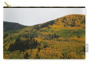 A Drive Throw The Forest In The Fall Carry-all Pouch