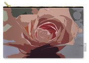 A Dusty Rose-d Carry-all Pouch