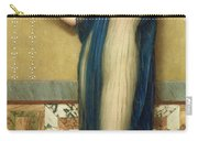 A Fair Reflection Carry-all Pouch by John William Godward
