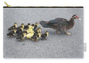 A Family Outing  Carry-all Pouch by April Wietrecki Green