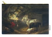 A Farmyard Carry-all Pouch by George Morland