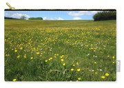 A Field Of Buttercups Carry-all Pouch