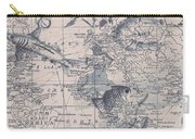 A Fishermans Map Carry-all Pouch
