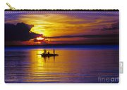 A Fisherman's Sunset  Carry-all Pouch