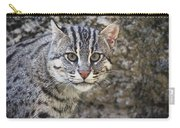 A Fishing Cat Portrait Carry-all Pouch