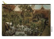 A Flemish Garden Carry-all Pouch