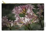 Peppermint Surprise Lily - A Floral Abstract Carry-all Pouch