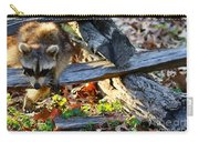 A Foraging Raccoon Carry-all Pouch