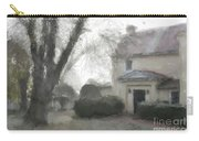 A Frosty Foggy Morning At The Manor House Carry-all Pouch