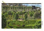 A Garden View At Chateau De Villandry Carry-all Pouch