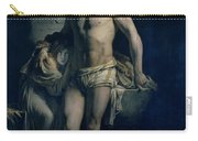 A Gaul And His Daughter Imprisoned In Rome Carry-all Pouch by Felix-Joseph Barrias