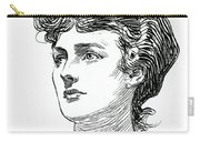 A Gibson Girl By Charles Dana Gibson Carry-all Pouch