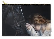 A Girl Who Loves Horses Carry-all Pouch