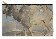 A Goat By Joseph Crawhall 1861-1913 Carry-all Pouch
