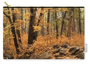 A Golden Autumn Forest  Carry-all Pouch