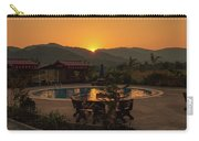 A Golden Sunset In Loas Carry-all Pouch