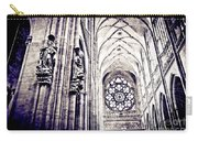 A Gothic Church Carry-all Pouch