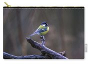A Great Tit In The Rain Carry-all Pouch