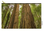 A Group Giant Redwood Trees In Muir Woods,california. Reaching F Carry-all Pouch