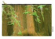 A Group Giant Redwood Trees In Muir Woods,california. Carry-all Pouch