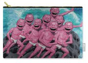 A Group Of People Laugh Carry-all Pouch