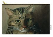 A Head Study Of A Tabby Cat Carry-all Pouch