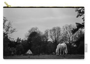 A Horse In Light Carry-all Pouch