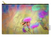A Hoverfly On Abstract #h3 Carry-all Pouch
