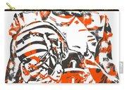 A J Green Cincinnati Bengals Pixel Art 5 Carry-all Pouch