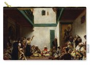 A Jewish Wedding In Morocco Carry-all Pouch by Ferdinand Victor Eugene Delacroix