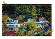 A Juneau Hillside  Carry-all Pouch