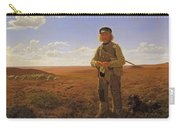 A Jutland Sheperd On The Moors Carry-all Pouch