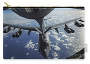 A Kc-135 Stratotanker Aircraft Refuels Carry-all Pouch
