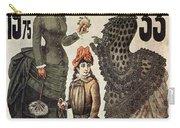 A La Tour St.jacques - Rue De Rivoli - Vintage Fashion Advertising Poster - Paris, France Carry-all Pouch