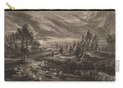 A Landscape With A Village Carry-all Pouch